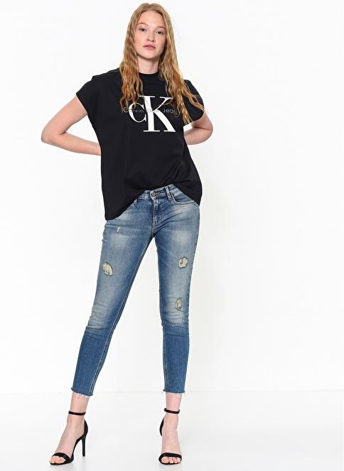 Calvin Klein Jean Pantolon   Skinny Ankle Mavi